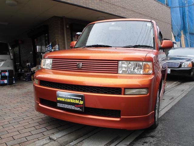 トヨタ bB Z Xバージョン カロッツェリアナビ ETC