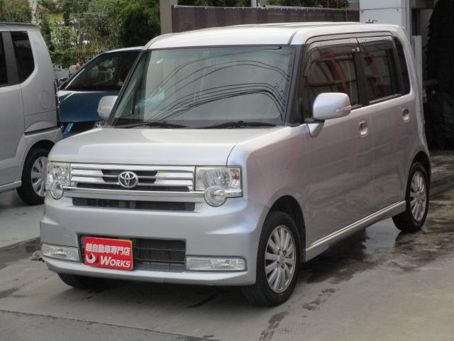 トヨタ カスタム X スマートキーウィンカーミラー アルミホイール