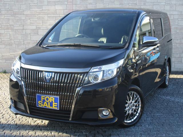 トヨタ ハイブリッドGi ブラックテーラード 新品社外メモリーナビ