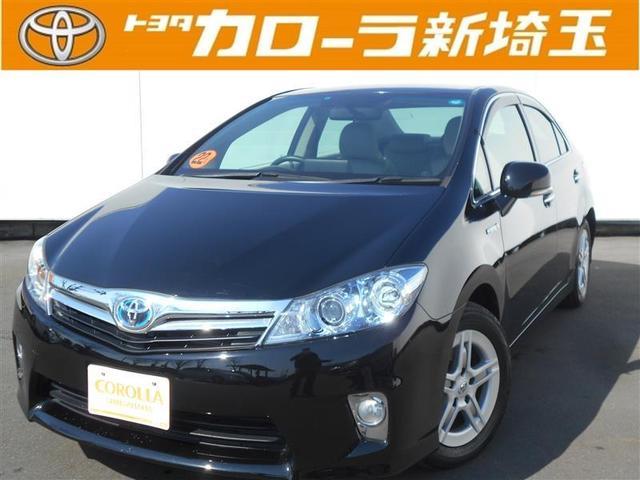 トヨタ S HDDナビ フルセグ バックモニター パワーシート CD