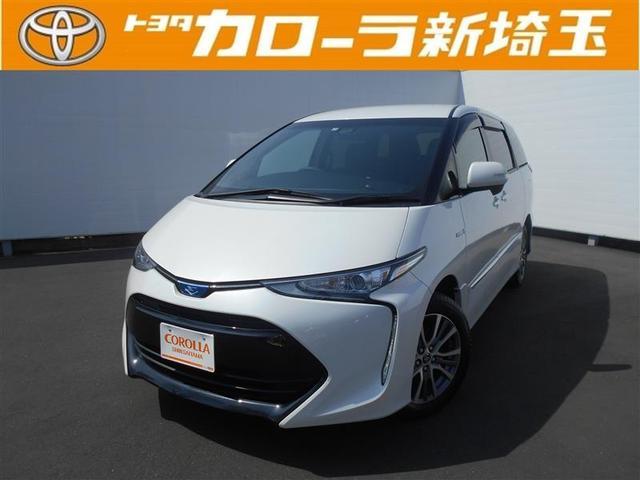 トヨタ アエラス プレミアム-G メモリーナビ フルエアロ ABS