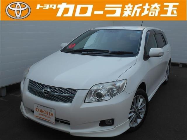 トヨタ 1.8Xエアロ HDDナビ ワンセグ フルエアロ 純正アルミ