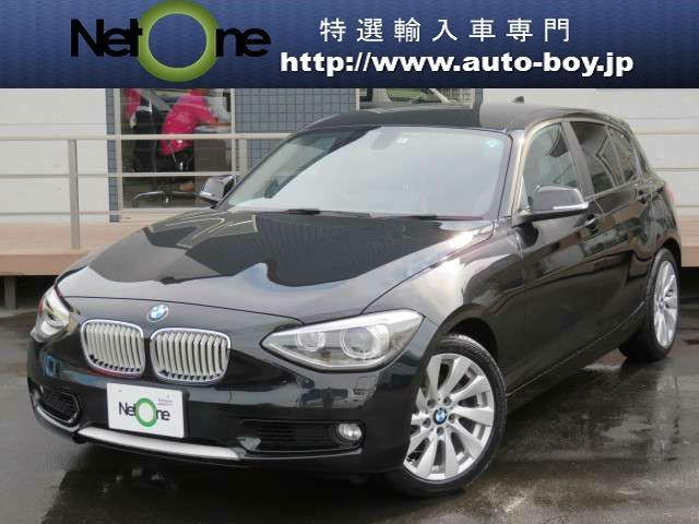BMW 120i スタイル HDDナビ スマートキー HID ETC