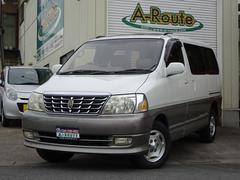 グランドハイエースリミテッドプレステージエディション4WD 1オナ SR 本革