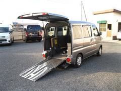 クリッパーバン福祉車両 リアスロープタイプ 4人乗り キーレス ABS