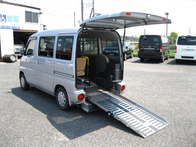 日産 アンシャンテ スロープタイプGX 福祉車両 キーレス CD