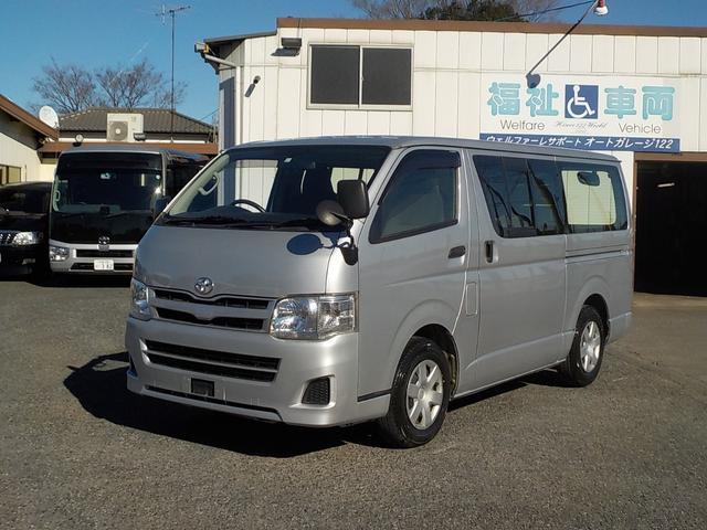 トヨタ ロングDX 9人乗り Wエアコン ETC キーレス