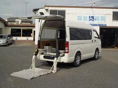 ハイエースバンロングDX トヨタ車体リアリフト260kg ナビ&TV
