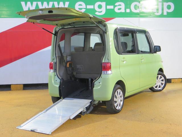 ダイハツ L スローパー リヤシート付 社外SDナビ 車いす固定装置