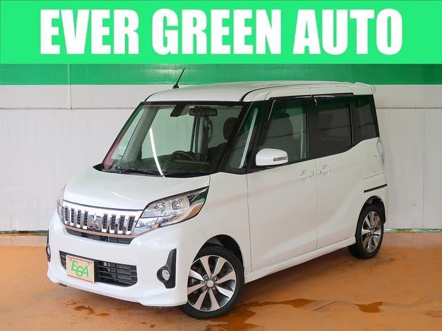 三菱 カスタムT e-アシスト 禁煙車 両側自動ドア 自動衝突軽減ブレーキ