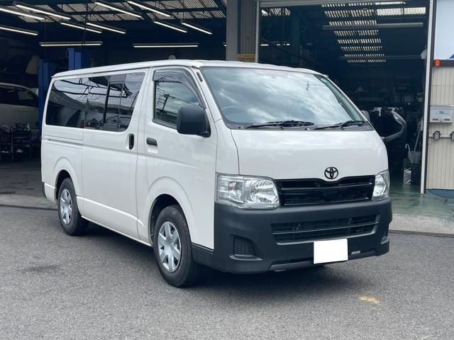 トヨタ ロングDX ナビ TV Bカメラ 革調シート ブラックパネル LEDテール