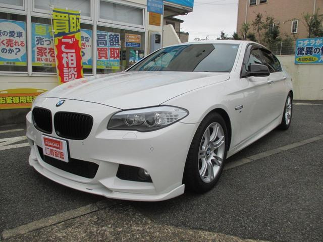 BMW 5シリーズ 523i Mスポーツパッケージ 黒革シート ...