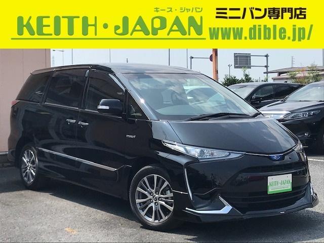 トヨタ アエラス プレミアム 4WD 禁煙車 サンルーフ 大型ナビ