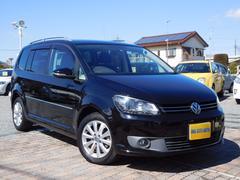 VW ゴルフトゥーランTSI 全国1年保証ハイライン 禁煙 ナビ 地D Bカメ