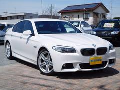 BMW523i Mスポーツ 全国無料保証 スマートキ− 黒革シート