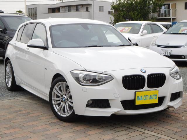 BMW 116i Mスポーツ 全国1年保証 Iストップ  純正ナビ