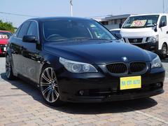 BMW525iハイラインパッケージ 黒革シート ローダウン