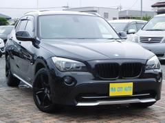 BMW X1xDrive25i 4WD SR ETC 純ナビ 黒革シート