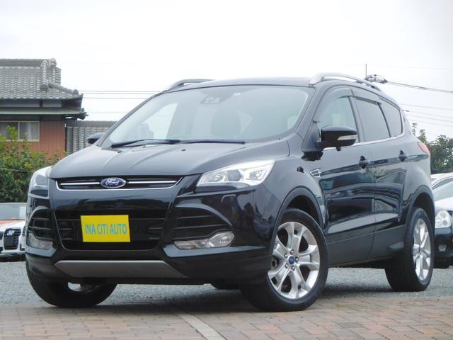 フォード タイタニアム 全国保証 1オナ SR AWD カロナビ