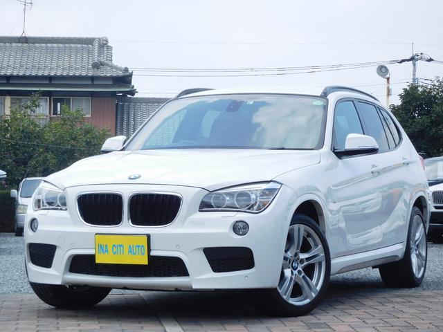 BMW X1 sDrive 20i Mスポーツ 全国保証 禁煙車 HID ETC 純正ナビ バックカメラ 地デジ コンフォートアクセス 純正19インチアルミホイール