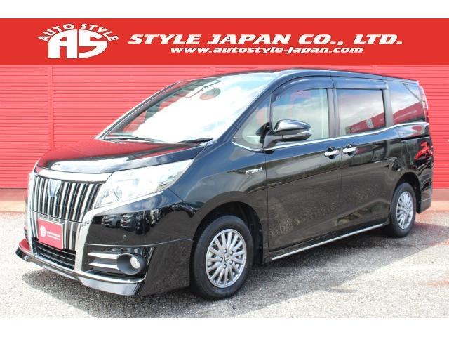 トヨタ HV-Gi 両側電動 アルパイン フルエアロ カラー202