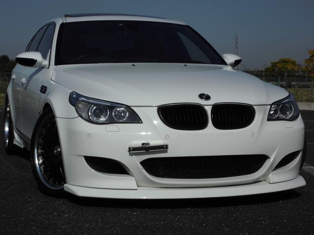 BMW M5 本革 SR 車高調 マフラー 20AW