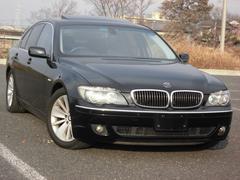 BMW750i黒革エアシートナビ