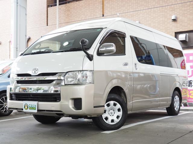 トヨタ グランドキャビン 10人乗り・ナビ・ETC・バックモニタ・ワンセグ・Bluetoothオーディオ