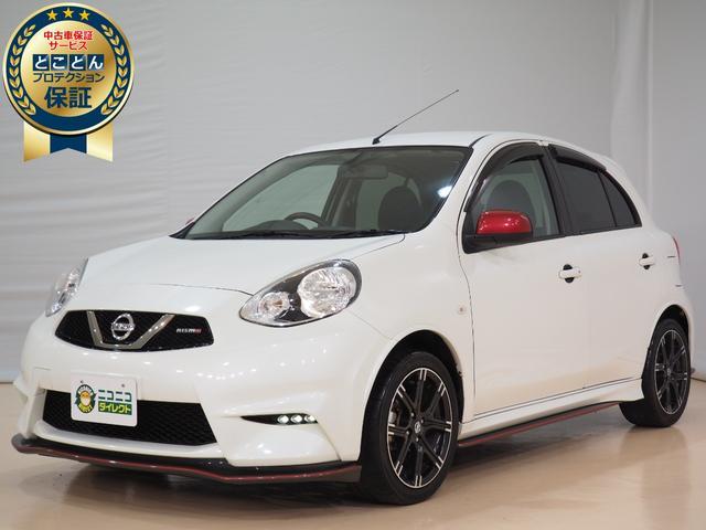日産 ニスモ ・バックモニター・ナビ・ETC・フルセグ・プッシュスタート・オートエアコン・AW・ABS・アイドルストップ