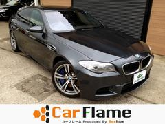 BMW M5M5 サンルーフ純正ナビFBカメラ本革Pシート電動リアゲート