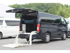 NV350キャラバンバンロングDXターボ ディーゼル 和光工業400kg対応リフト付