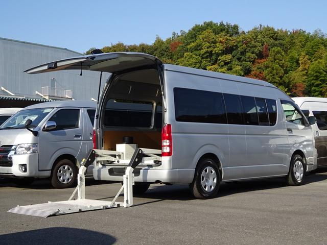トヨタ SロングワイドDX GLパッケージ パワーリフト付 最大昇降荷重260kg スーパーGL用リヤシート