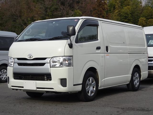 トヨタ  中温冷凍バン 最低設定温度-7℃ ディーゼルターボ 8ナンバー 冷蔵冷凍車 社外ナビ バックカメラ