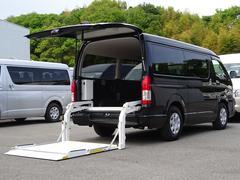 ハイエースバンロングワイドスーパーGL 和光工業パワーリフト付 最大昇降能力350kg トヨタセーフティセンス