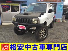 ジムニーXG ターボ 4WD MT車 3インチリフトアップ チェーン