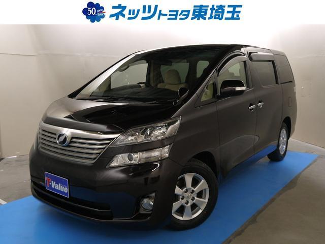 トヨタ 2.4V HDDナビ フルセグ 電動スライドドア 1オーナー