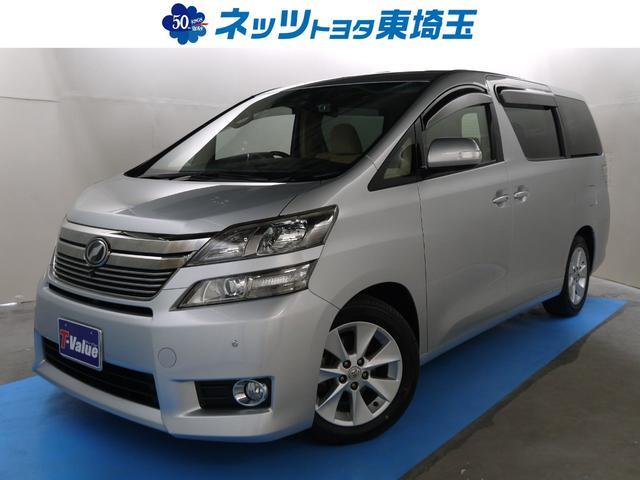 トヨタ 3.5V 純正HDDナビ バックモニター 後席モニター