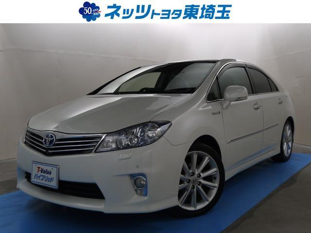 トヨタ G HDDナビ フロント&リヤモニター パワーシート