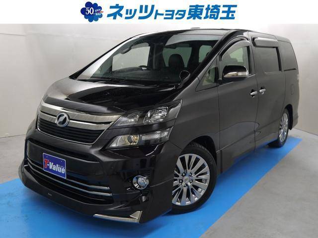 トヨタ 2.4Z ゴールデンアイズ HDDナビフルセグTVワンオーナ