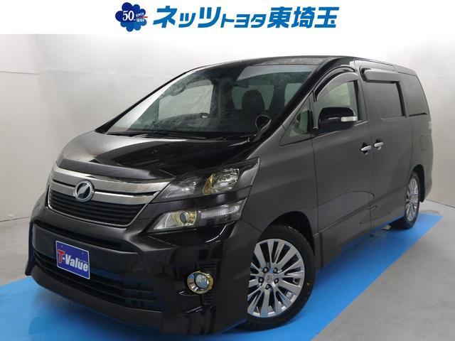 トヨタ 2.4Z ゴールデンアイズ HDDナビ 後席モニター
