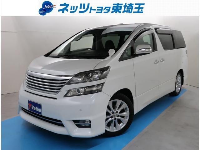 トヨタ 2.4Z プラチナムセレクション 純正8型HDDナビ ETC