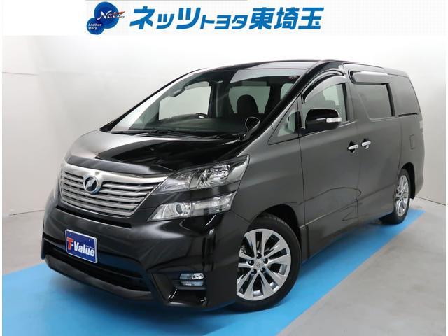 トヨタ 2.4Z プラチナセレクションII 後席モニター SDナビ
