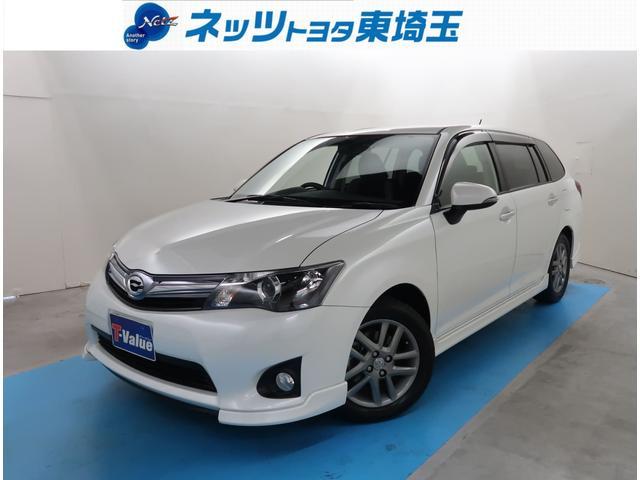 トヨタ 1.5G エアロツアラー・ダブルバイビー SDナビフルセグ