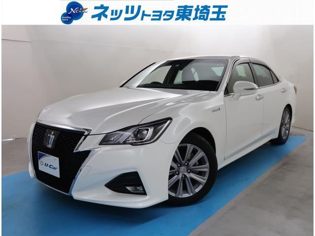 トヨタ アスリートS 純正SDナビ サポカー LEDライト ETC
