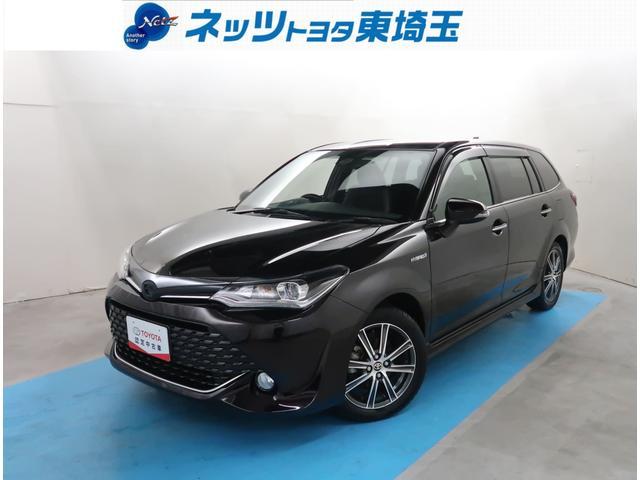 トヨタ カローラフィールダー ハイブリッドG ダブルバイビー Bluetooth 自動(衝突被害軽減)ブレーキ ナビ ETC