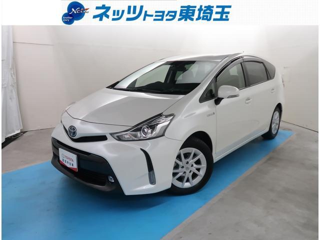 トヨタ プリウスアルファ G 純正SDナビ ETC サポカー LEDライト 3列シート車