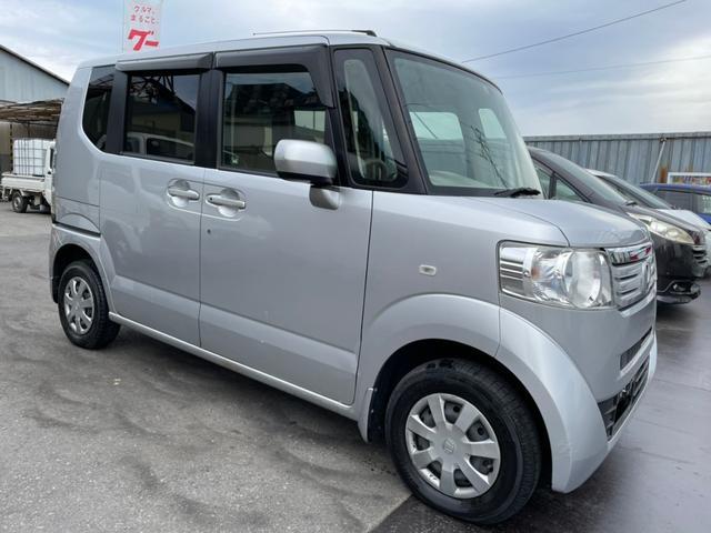 ホンダ N-BOX G 4WD!    タイヤ4本新品!!!