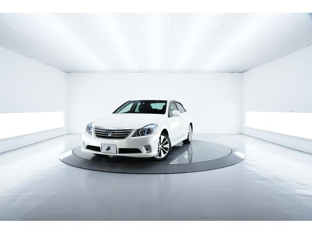 トヨタ Gパッケージ 本革 プリクラッシュ HID 電動シート ナビ