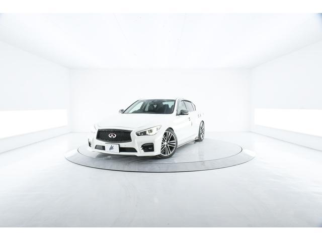 日産 350GT ハイブリッド タイプSP 黒本革 アラウンドビュー 衝突軽減 車高調