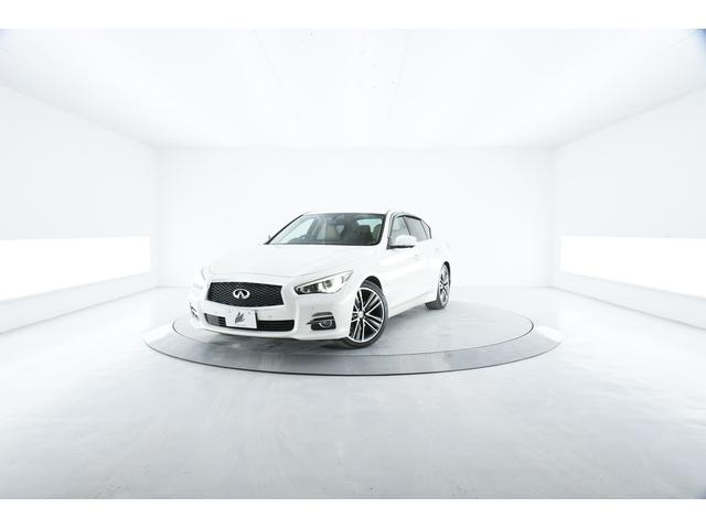 日産 350GT ハイブリッド タイプP 本革 衝突軽減 コネクトナビ 純正19AW LED